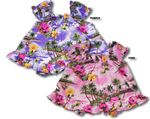 Girl's infant cotton cabana set Hibiscus Paradise