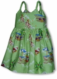 Santa's Xmas Vacation Sundress