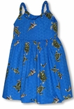 Turtle Swim Girls Bungee Strap Sundress