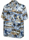 Golf in Paradise men's cotton shirt