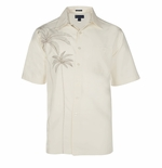 Grand Palms Men's Weekender Embroidered Shirt