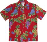 Wine Country Grapes Men's Rayon