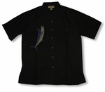 Great Marlin Men's Hook & Tackle Embroidered Shirt