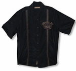 CLOSEOUT Habanos Finest Leaf Cigar Men's Embroidery Shirt