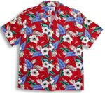 CLOSEOUT Hawaii Aloha Hibiscus men's shirt