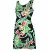 Hawaii Garden Junior Petite Short Tank Dress
