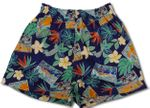 Hawaii Nei Beloved Bamboo Boxer Cotton Shorts