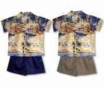 Hawaiian Dreamscape boy's 2pc set
