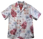 Peaceful Hawaiian Icons Men's Reverse Aloha Shirt