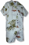 Hawaiian Islands Archipelago boy's 2pc set