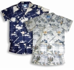 Hawaiian Islands Paradise boy's 2pc Set