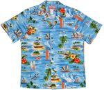 Hawaiian Islands Pleasures men's RJC cotton aloha shirt