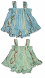 CLOSEOUT Hawaiian Lei Girl's Ruffle 2pc
