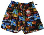 Hawaiian Luau Uni-Sex Bamboo Boxer Shorts