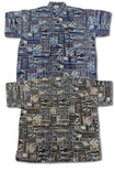 Hawaiian Nature Men's Terivoile Rayon Shirt