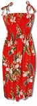 Hawaiian Orchid Women's One Size Tube Dress