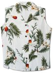 Hawaiian Orchid Womens Sleeveless Blouse