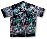 Hawaiian Palm Men's Shirt