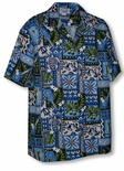 Hawaiian Petroglyphs Men's Shirt