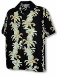 Hawaiian Pineapple Panel Men's Shirt