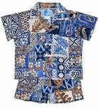 Hawaiian Symbol boy's 2pc set