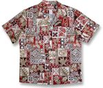 Hawaiian Symbols men's shirt