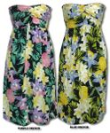 Hawaiian Jungle Flowers 3 in 1 dress