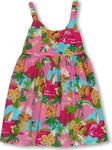 Hawaiian Vacation Activities Girl's Bungee Dress