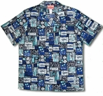 Hawaiian Wood Creations men's cotton aloha shirt