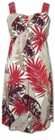 Heliconia Fern Women's Elastic Back Sundress