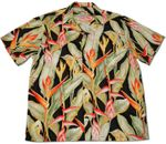 Heliconia men's rayon aloha shirt and matching Dress