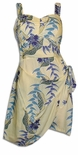 Heliconia Panel Sarong Dress
