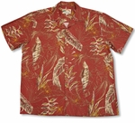 Heliconia Sketch Men's Rayon