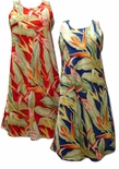 Heliconia women's short tank dress