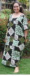 Heritage Hawaiian IV women's round neck long dress