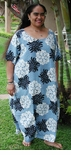 4X Heritage Hawaiian V Women's Rayon Dress