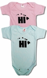 HI Block Unisex Infant Baby Onesie