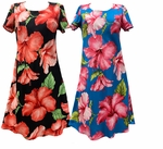 Hibiscus Blossom Short Tank Dress Made in Hawaii