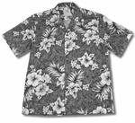 Hibiscus Crack Men's Shirt