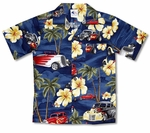 Hibiscus Drag Racers Boy's Cotton