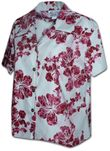 Hibiscus Dress-Up Men's Shirt