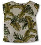 CLOUSEOUT Hibiscus Garden Womens Pullover Blouse