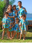 Hibiscus Hawaiian Islands A Matching Tropical Print Family Outfits