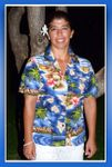 Hibiscus Hawaiian Islands women's shirt