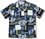 CLOSEOUT Hibiscus Hawaiian Legend men's tapa