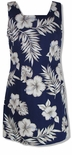 CLOSEOUT Hibiscus Monstera Short Tank Dress