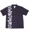 Hibiscus Panel Men's Rayon
