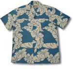 Hibiscus Pareau men's paradise found shirt