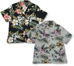 Hibiscus Stephanotis Womens Shirt