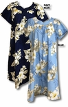 Hibiscus Trends cotton muumuu by Two Palms